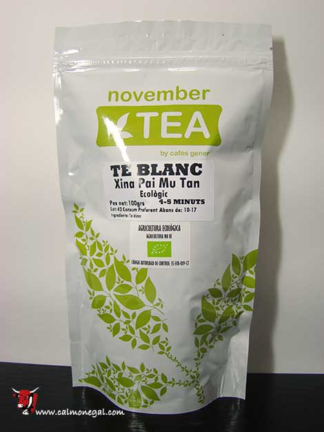 Te blanc (Xina Pai Mu Tan) 100gr NOVEMBER TEA