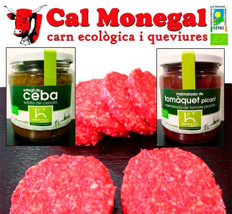 hortus cal monegal hamburguesa