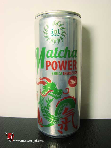 Beguda energètica Matcha Power 250ml SOL NATURAL