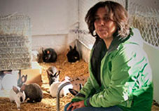 isabel perera martin productor conill ecològic