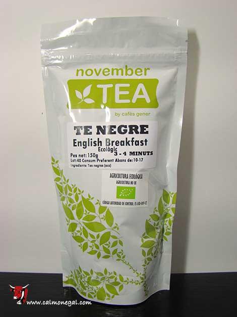 Te negre (english breakfast) 150gr NOVEMBER TEA