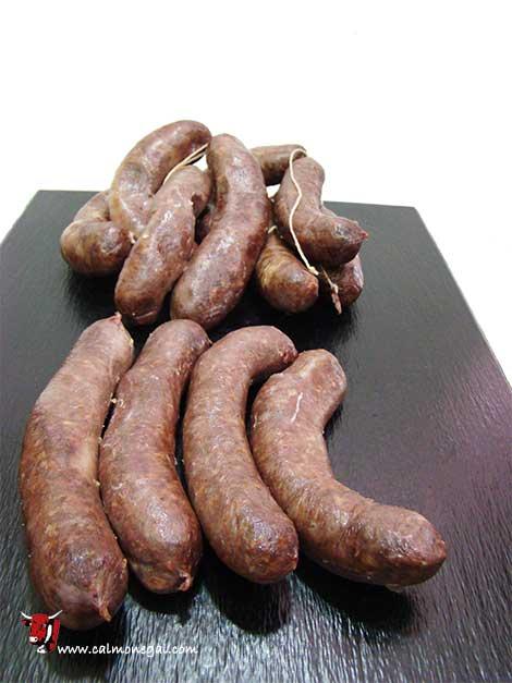 Botifarra negra (cuita) de porc