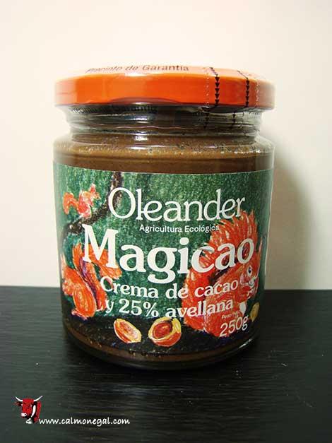 Crema de cacau i 25% avellana Magicao 250gr OLEANDER