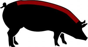 porc ecològic cansalada grassa