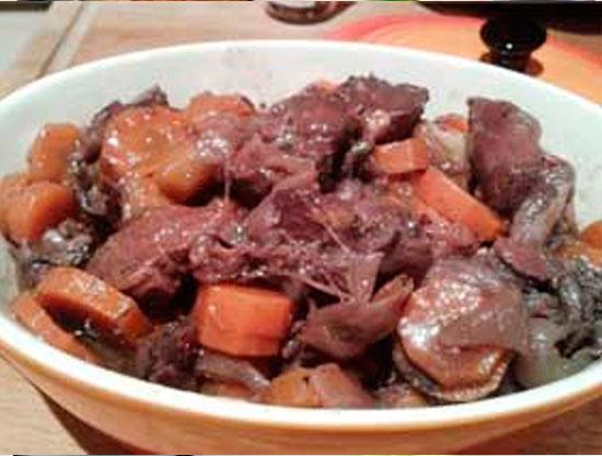Recepta estofat de vedella amb pastanaga Yuka Ghesquiere Castelldefels