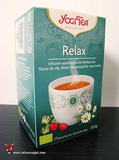 Infusió relax (calma interior) 17 dosis YOGITEA