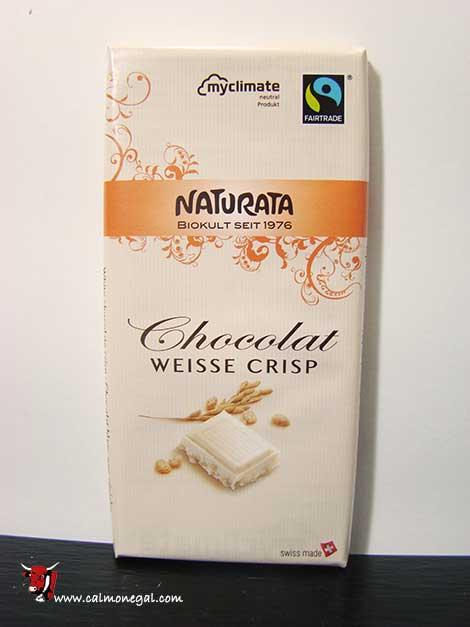 Xocolata blanca amb cereals 100gr NATURATA
