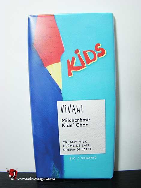 "Xocolata amb llet kids ""MILCHCRÈME"" 100gr VIVANI"