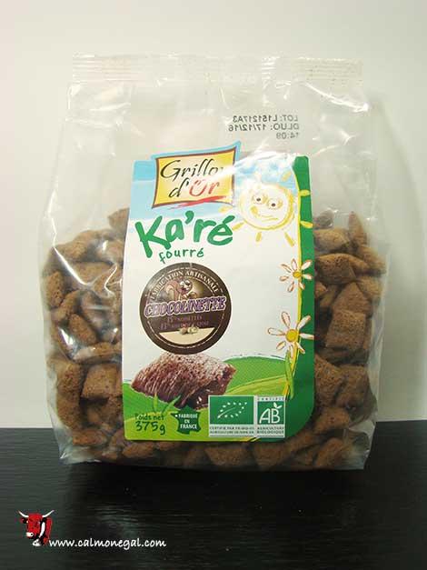 Cereals xocolata ka'ré fourre 375gr GRILLON D'OR