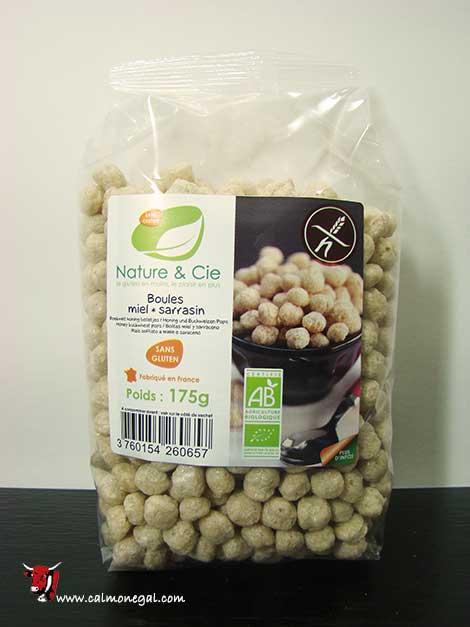 Cereals boletes de fajol amb mel 175gr NATURE & CIE