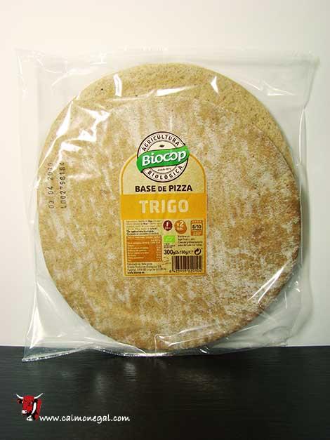 Base de pizza de blat (2 unitats) 300gr BIOCOP