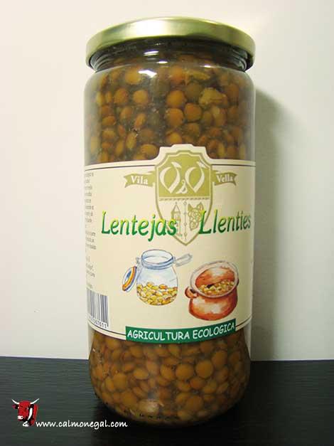 Llenties cuites 700gr VILA VELLA (Cal Valls)