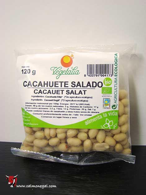 Cacauet salat 120gr VEGETALIA