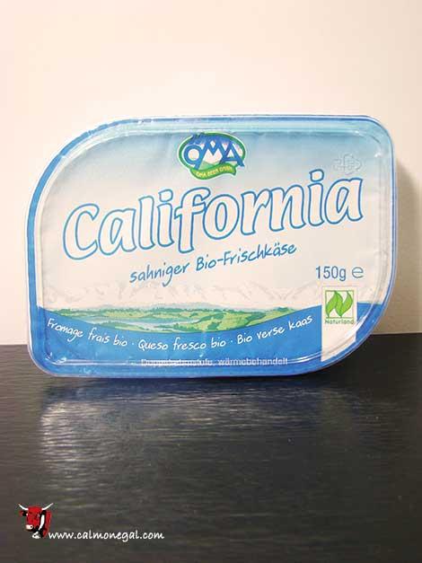 Formatge per untar California 150gr OMA