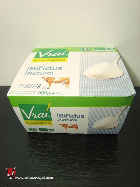 Iogurt natural bífidus 4x125gr VRAI