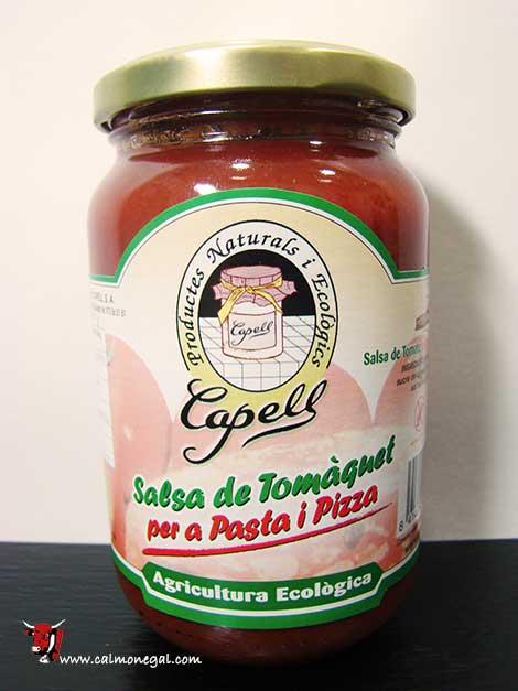 Salsa de tomàquet per a pasta i pizza 350gr CAPELL