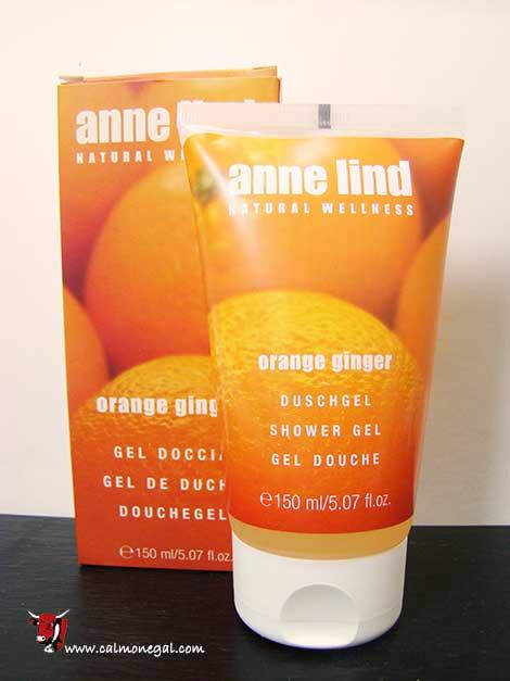 Gel de dutxa taronja 150ml ANNE LIND