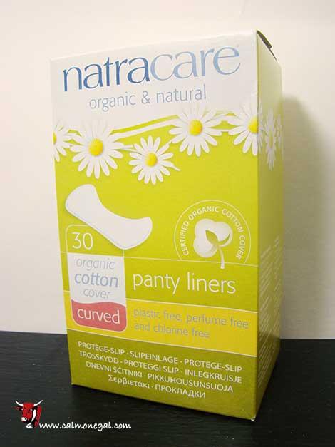 Salvaslip curved panty liners 30 unitats NATRACARE