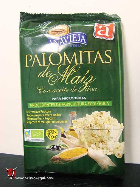 Crispetes amb oli d'oliva per microones 100gr AÑAVIEJA