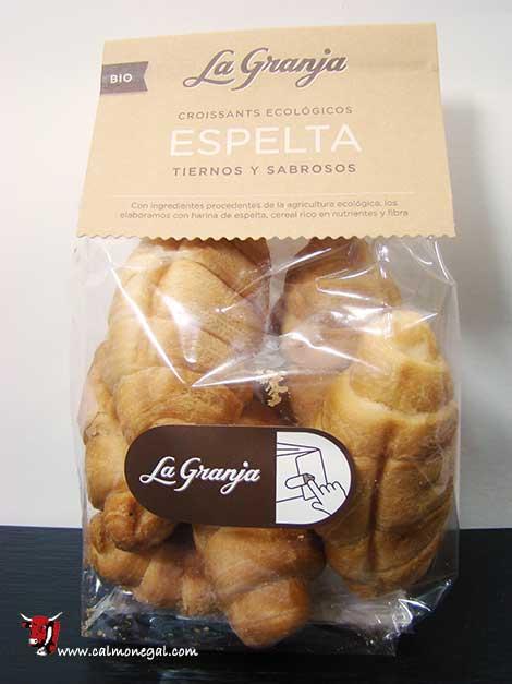 Croissants d'espelta 120gr LA GRANJA