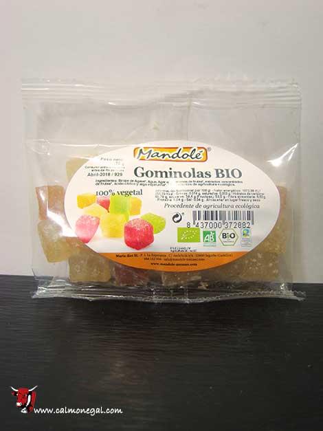 Gominoles vegetals 70gr MANDOLÉ
