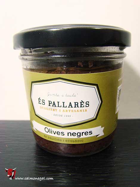 Paté d'olives negres 100gr ÉS PALLARÈS