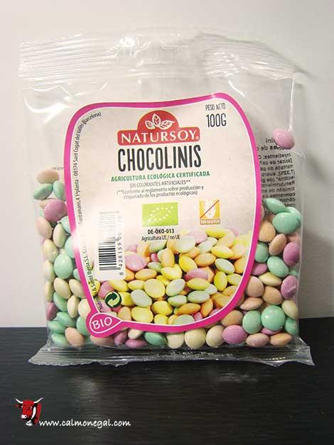 "Xocolinis ""chocolinis"" 100gr NATURSOY"
