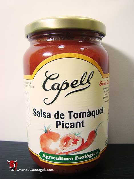 Salsa tomàquet picant 350gr CAPELL