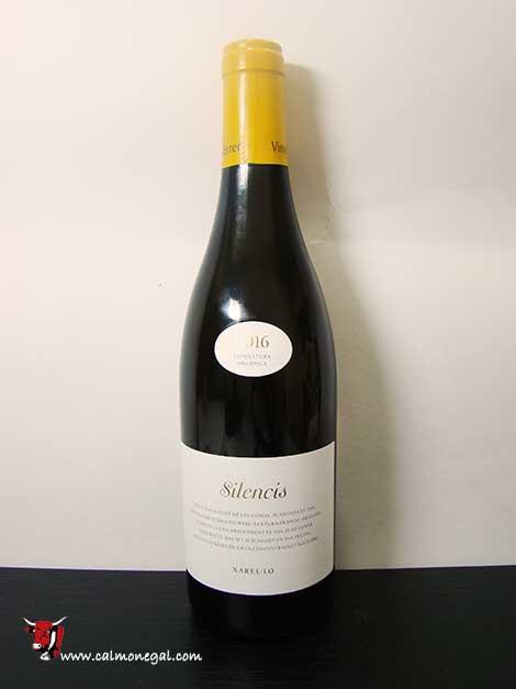 "Vi blanc ""silencis"" 75cl VINS DE TERRER"