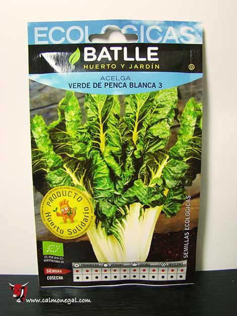 Llavor de bleda verda de penca blanca nº3 3,9 gr BATLLE