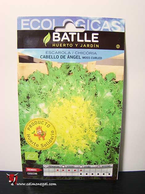 "Llavor d'escarola cabell d'àngel ""Moss Curled"" 0,6 gr BATLLE"