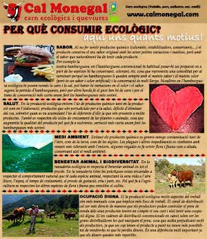 Per què consumir ecològic?