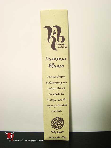 Encens Dammar Blanc 15gr H&B