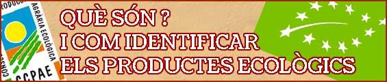 Què són els productes ecològics i com identificar-los