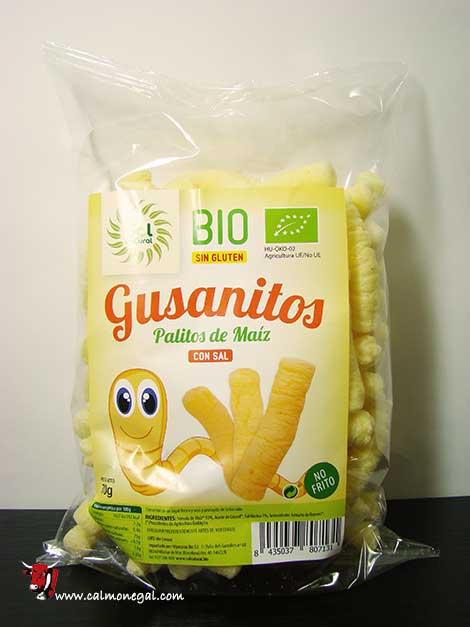Cuquets gegants de blat de moro 70gr SOL NATURAL