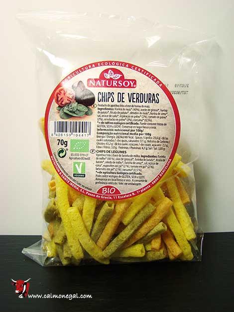 Xips de verdures 70gr NATURSOY
