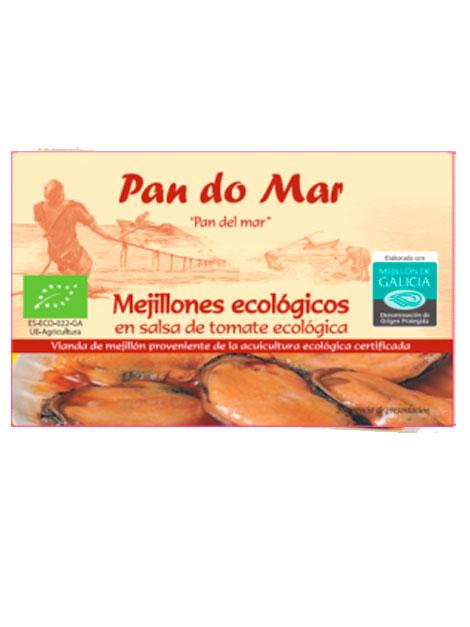 Musclos amb salsa de tomàquet 115gr PAN DO MAR